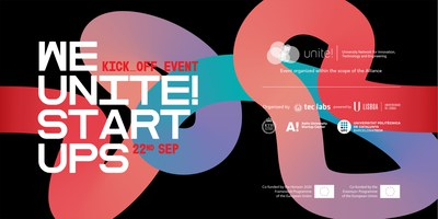 """Join us in the kick-off event """"We Unite! Startups"""" on September 22"""
